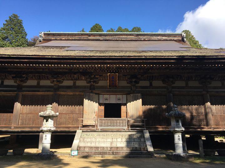 善水寺の本堂(Hon-do hall of Zensui-ji)