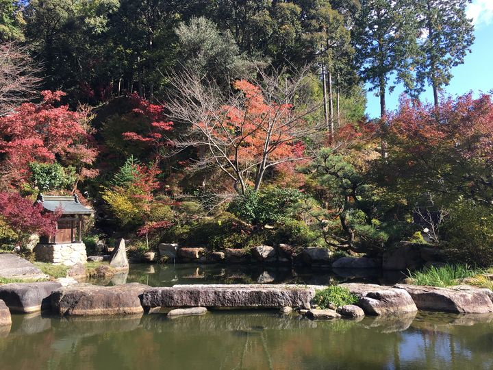 善水寺の百伝池(Zensui-ji Temple)