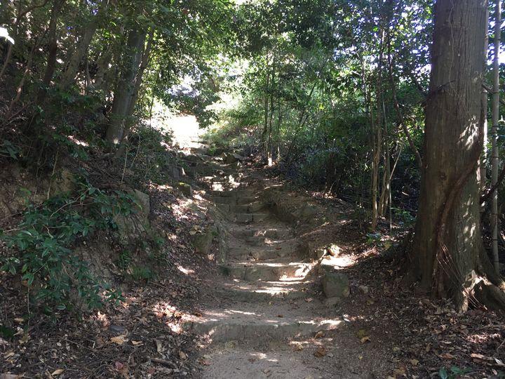 善水寺の参道