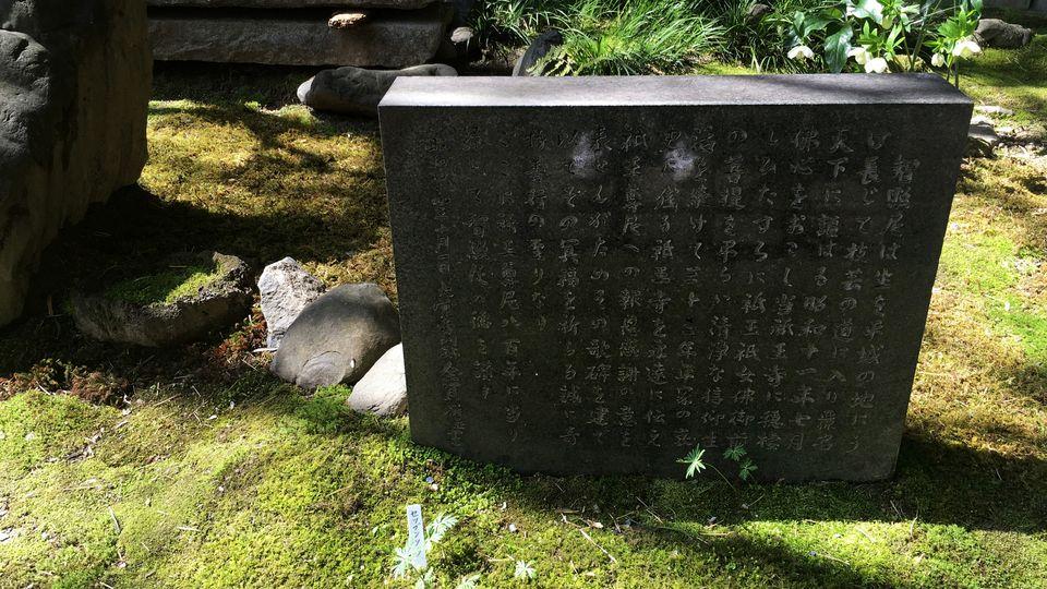 祇王寺の境内(Precincts of Gio-ji)