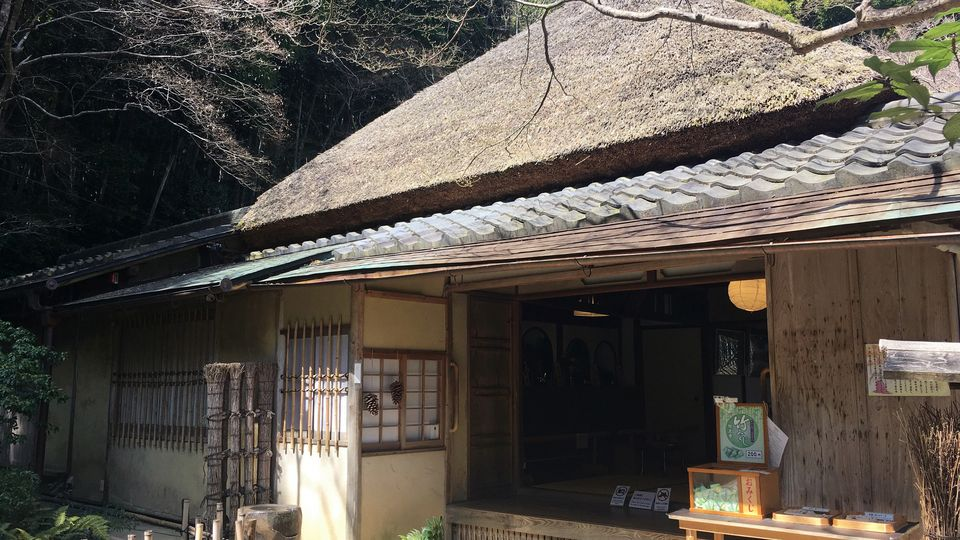 祇王寺の本堂(Hon-do hall of Gio-ji Temple)