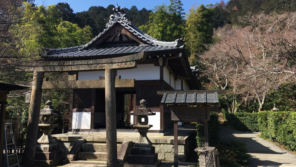 常寂光寺の妙見堂(Myoken-do hall of Jojakko-ji Temple)