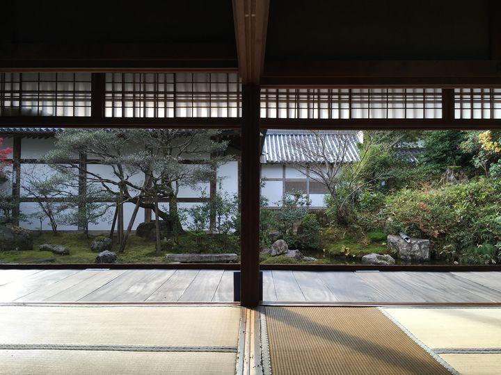 浄住寺の方丈庭園(Hojo garden of Joju-ji Temple)