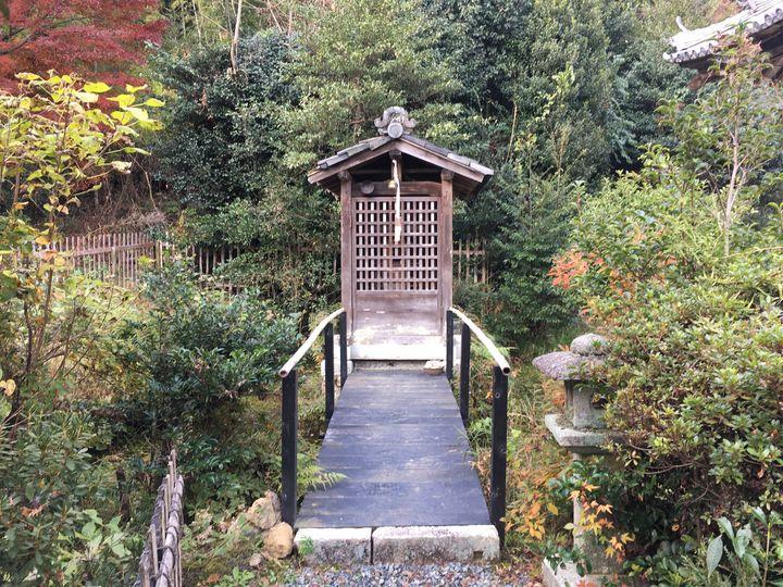 浄住寺の弁天堂(Benten-do hall of Joju-ji Temple)