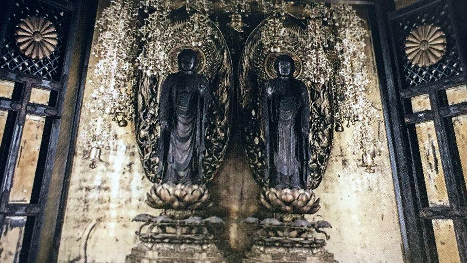 二尊院のご本尊(Principal image of Nison-in Temple)