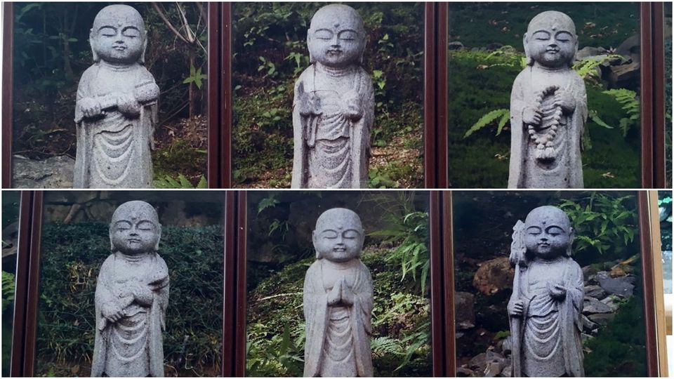 六地蔵(Six jizo of Nison-in Temple)