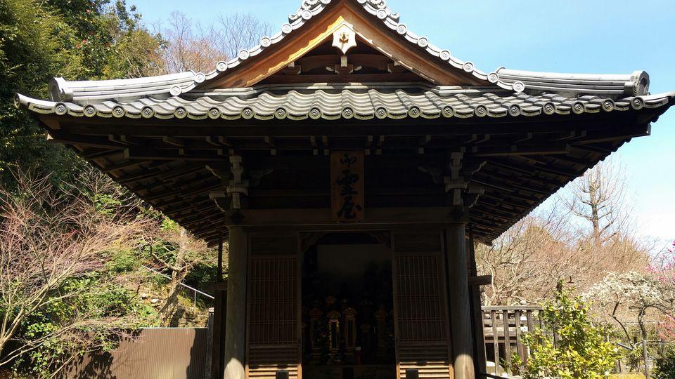 二尊院の位牌堂(Ihai-do hall of Nison-in Temple)