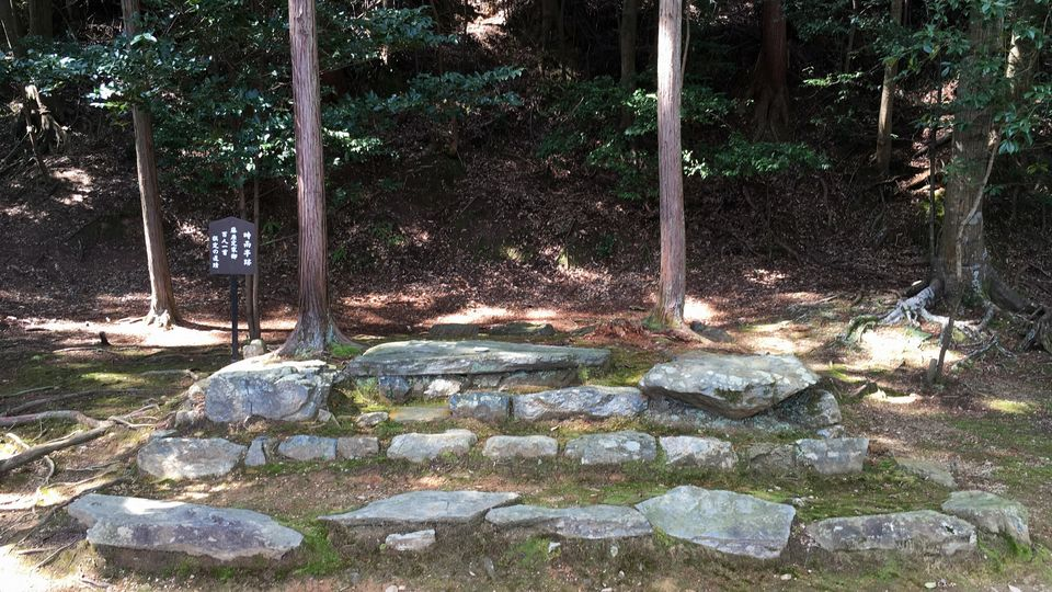 二尊院の時雨亭跡(Ruins of the Shigure-tei in Nison-in Temple)