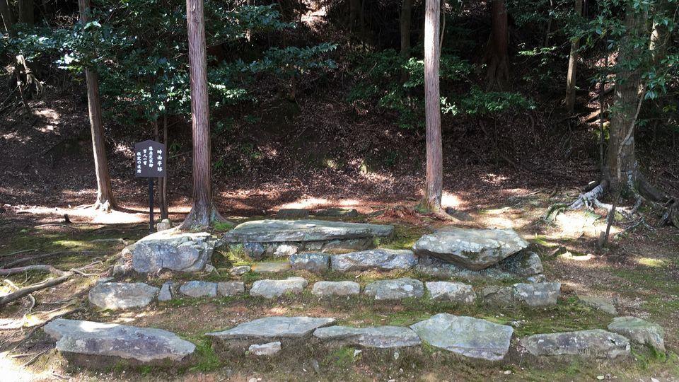 二尊院の時雨亭跡(Ruins of the Shigure-tei in Nison-in Temple)