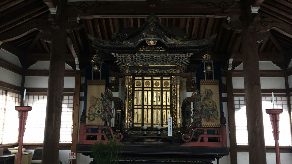 鹿王院の舎利殿(Shari-den hall of the Rokuo-in Temple)