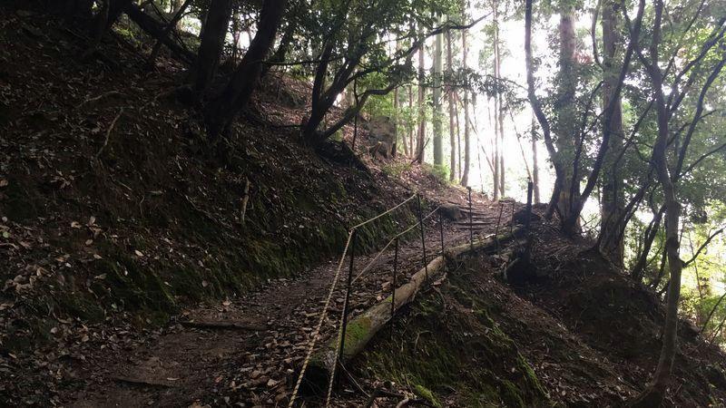 愛宕神社表参道の壺割坂(Tsubowarizaka Slope)