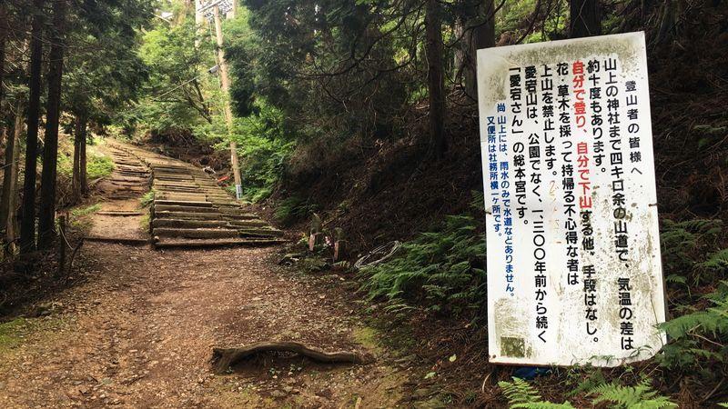 愛宕神社の表参道の花売り場(Shikimi-Flower Stand)