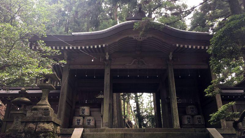 愛宕神社の神門(Shin-mon Gate)