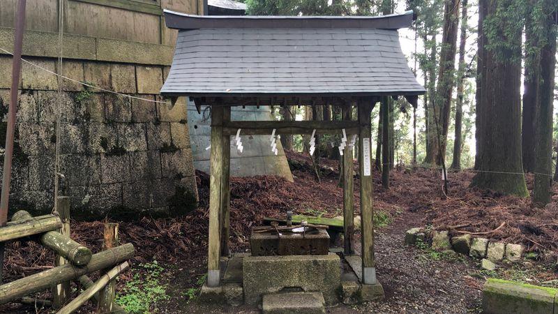 愛宕神社の手水舎(Chozu-sha)