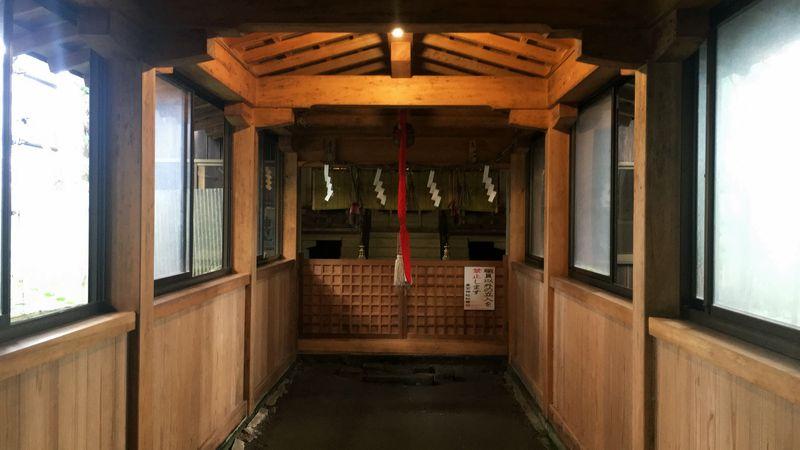 愛宕神社の奥宮社(Okumiya-sha Shrine of Atago-jinja Shrine)