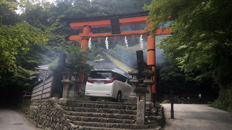愛宕神社の一の鳥居(Ichi-no-torii gate of Atago-jinja Shrine)