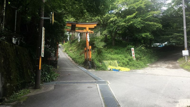 愛宕神社の二の鳥居(Ni-no-torii gate of Atago-jinja Shrine)