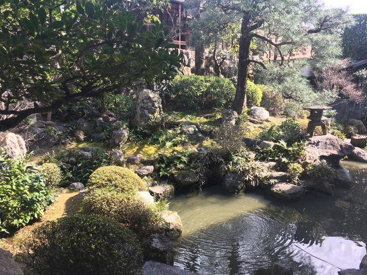 金臺寺/金台寺の庭園(Kontai-ji Temple)
