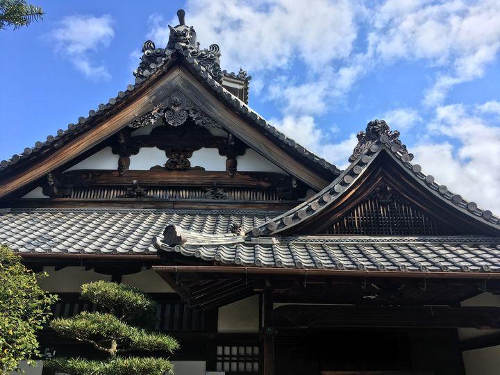 金臺寺/金台寺の本堂・庫裏